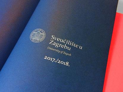 Rokovnik sveučilišta u Zagrebu 2018.